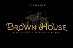 Brown House Product Image 2