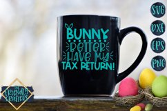 Bunny Better Have My Tax Return - An Easter Cut File Product Image 3