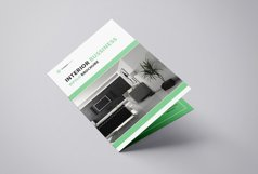 Interior Design Bifold Brochure Product Image 2