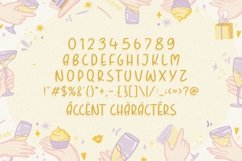 BOUNTIES Fun & Rounded Handbrushed Font Product Image 5