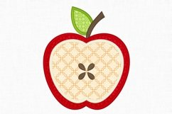 Apple Applique Embroidery Design 1294 Product Image 2