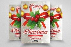 10 Christmas Celebration Flyers Bundle Product Image 3