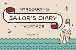 Sailors Diary Sans Tattoo Style Font Product Image 1