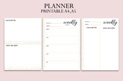 Planner, organiser, daily - weekly planner, Family planner Product Image 4