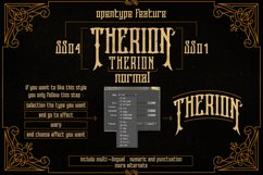 Therion Typeface + Ornament Bonus Product Image 6