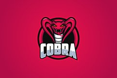 The King Cobra Mascot Logo Templates Product Image 2