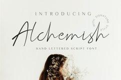 Alchemish Signature Script Font Product Image 1
