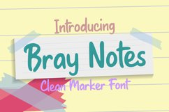 Bray Notes Product Image 1