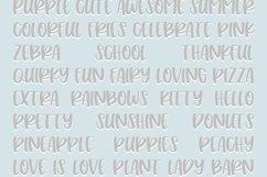 Peach Cobbler | Fun Handwritten Font | Bouncy Font Product Image 2
