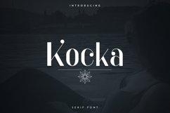 Kocka Serif Font Product Image 1