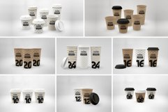 Paper Hot Drink Cups Packaging Mockup Product Image 2