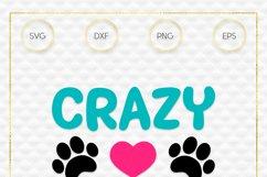 Crazy Dog Mom SVG File Product Image 3