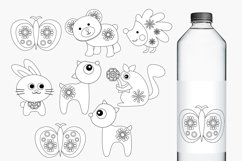 Spring woodland animals graphics and illustrations Product Image 2