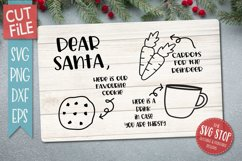 Santa Cookie Tray BUNDLE - SVG, PNG, DXF, EPS Product Image 6