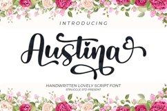 Austina - Lovely Script Font Product Image 1
