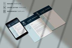 RN Nurse Resume template. Modern Resume format for Nurses Product Image 5
