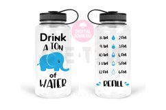 Drink a ton of Water svg | Water Tracker svg Product Image 1