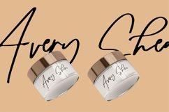 Sellathy   A Beauty Signature Font Product Image 2