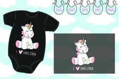 I love Unicorn svg, Believe, Magic, Unicorn horn Product Image 1