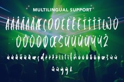 Web Font Humanoid - Cool Handbrushed Font Product Image 6