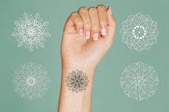Mandalas set SVG, Boho stile cut file, Print and Cut Stikers Product Image 4