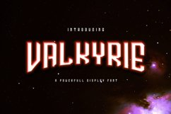 Valkyrie Typeface Product Image 1