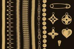 Chains & pendants Procreate brushes Product Image 3