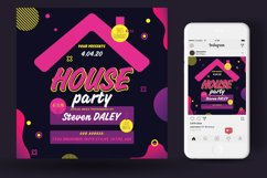 House Party Flyer Poster Product Image 3