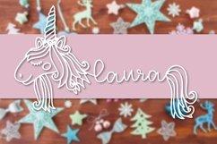 Unicorns - A Unicorn Name Maker Font Product Image 5