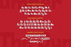 Web Font The Jumper Font Product Image 5