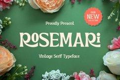 Rosemari - Vintage Serif Typeface Product Image 1