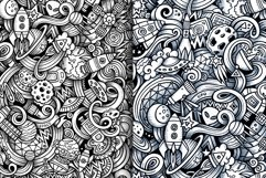 Space Graphics Doodle Patterns Product Image 4