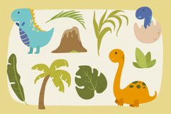 Dinosaurs Vector Clipart Pack Product Image 2