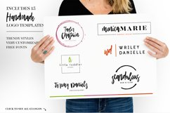 Academy House Font + Logos Product Image 3