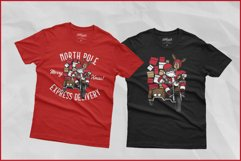 Biker Santa's North Pole Express Delivery for Crafters SVG Product Image 5