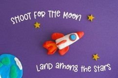 Moon Honey - An Out of this world thick Sans Serif Product Image 2