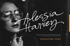 Alessia Harvey - Signature Font Product Image 1