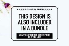 Square sunflower frame SVG, Wedding invitation frame Product Image 3