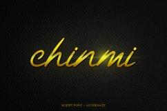 Chinmi Script Font Product Image 1