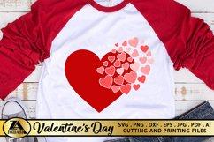 Heart SVG Valentine SVG Valentines Day SVG Love SVG Cut file Product Image 1