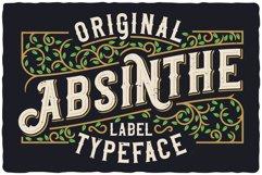 Original Absinthe Layered Font Product Image 3