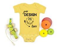 Bella Canvas 100B Baby Bodysuit Mockup Bundle - Baby Mock Up Product Image 5