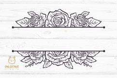 Rose SVG, rose PNG, Wedding flowers, Flowers SVG Product Image 2