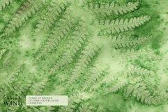 Forest fern digital paper, summer scrap book paper 12x12 Product Image 4