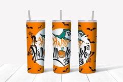 Happy Halloween tumbler sublimation Product Image 3