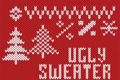Christmas Knitted Font Ol Product Image 5