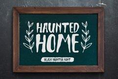 Black Hunter - Spooky Halloween font Product Image 5