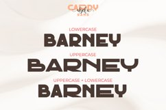 Cardy Abela Font Duo - Bold Sans and Tail Swash Script Product Image 3