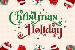 Christmas Knowing - Swirly Serif Font Product Image 3