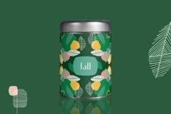Seasonarium. Abstract botanical pattern and graphic set. Product Image 2